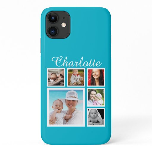 Personalized Custom Photo Collage Customizable iPhone 11 Case