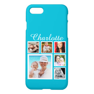 Personalized Custom Photo Collage Customizable iPhone 7 Case