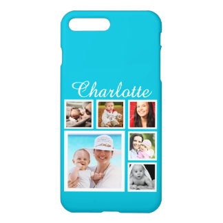 Personalized Custom Photo Collage Customizable iPhone 7 Plus Case