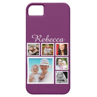 Personalized Custom Photo Collage Customizable iPhone SE/5/5S Case