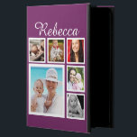 """Personalized Custom Photo Collage Customizable Powis iPad Air 2 Case<br><div class=""""desc"""">photo collage Customizable Personalize With photographs and Text  .. customize the text and photo template to suit your requirements .. add your initials / monogram / text .. electronic gadget products from Ricaso</div>"""