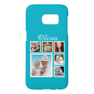 Personalized Custom Photo Collage Customizable Samsung Galaxy S7 Case