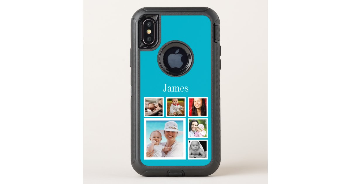 official photos 60035 fbb13 Personalized Custom Photo Collage Make Your Own OtterBox iPhone Case |  Zazzle.com
