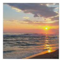 Personalized Custom Photo Faux Canvas Print