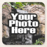 Personalized Custom Photo Gift Square Paper Coaster