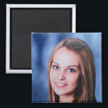 "Personalized Custom Photo Magnet<br><div class=""desc"">Upload a photo and easily create your personalized photo magnet. You can TRANSFER this DESIGN on other Zazzle products and adjust it to fit most of the Zazzle items. You can also click the CUSTOMIZE button to add, delete or change details like background color, text, font, or some graphics. Standard...</div>"