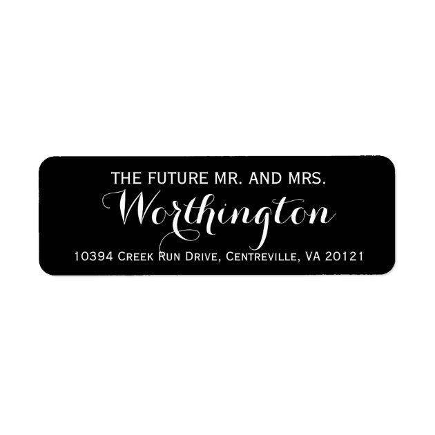 Wedding Shipping, Address, & Return Address Labels | Zazzle
