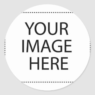 Personalized Custom Your Own Photo Classic Round Sticker