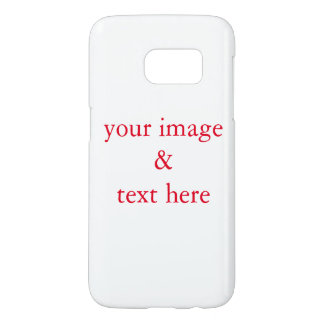 Personalized Custom Your Own Photo & Text Samsung Galaxy S7 Case