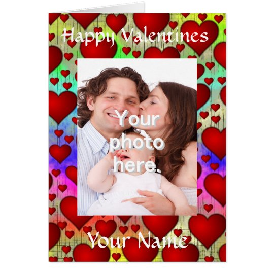 Personalized customizable Valentine's day Card