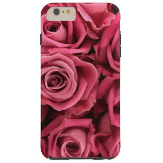 Personalized Customize Pink Roses Tough iPhone 6 Plus Case