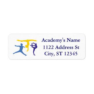 Personalized Customized Gymnastics Business Supply Return Address Labels