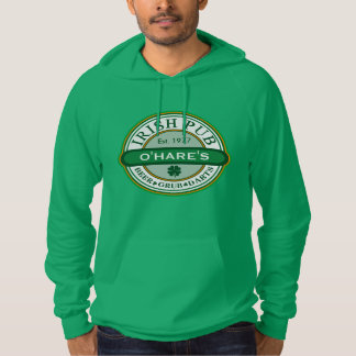 Personalized Customized IRISH PUB Hoodie