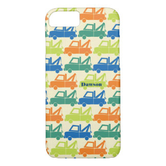 Personalized Cute Colorful Tow Truck iPod Touch iPhone 7 Case