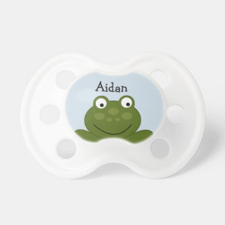 Personalized Cute Frog Parade Pacifier