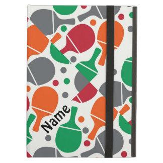 Personalized Cute Fun Table Tennis/Ping Pong iPad Air Case