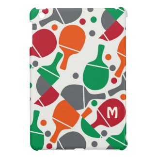 Personalized Cute Fun Table Tennis/Ping Pong iPad Mini Cases