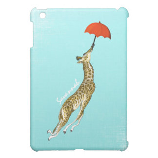 Personalized Cute Giraffe iPad Mini Case