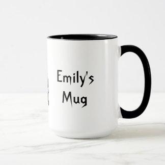 Personalized Cute Gothic Mug