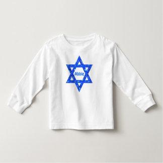 Personalized Cute Hanukkah Jewish Star of David Shirt