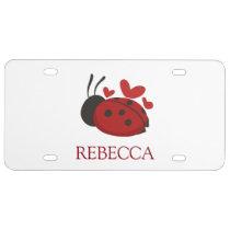 presentation box PERSONALISED ENGRAVED plate 1401 ladybug novelty CUFFLINKS gift Ladybird