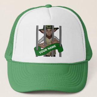 personalized cute  leprechaun  St Patrick's day Trucker Hat