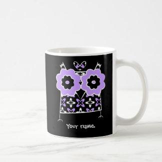 Personalized Cute Owl Duble-sided Mug