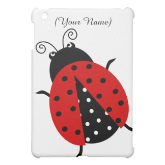 Personalized Cute Red Ladybug Case For The iPad Mini