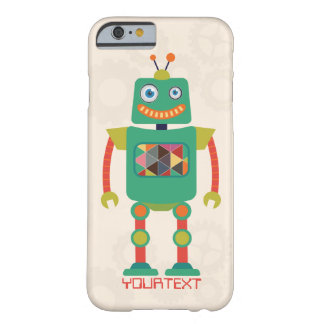 Personalized Cute Retro Robot Sci Fi iPhone 6 Case