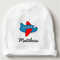 Personalized cute toy airplane baby hat for boy