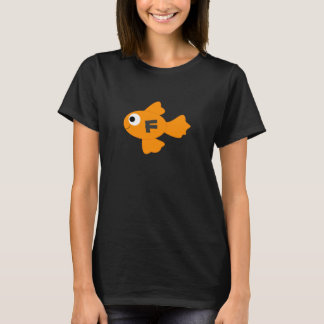 Personalized CuteHappy Cartoon Orange Fish TShirt