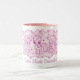 Personalized Cutie Mark Crusaders Mug