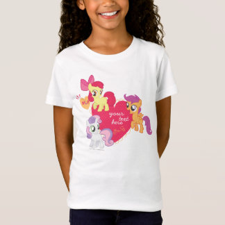 Personalized Cutie Mark Crusaders T-Shirt