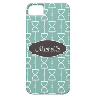 Personalized D Ring Snaffle Horse Bit ~ Teal iPhone SE/5/5s Case