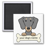 Personalized Dachshund Refrigerator Magnets