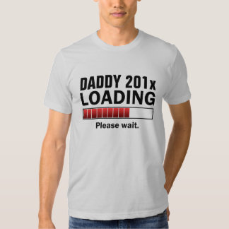 Personalized Dad To Be Tshirt