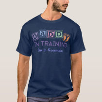 Personalized Daddy In Training T-Shirt