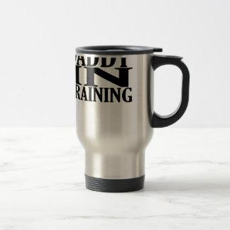 Personalized Daddy In Training Tshirt.png Travel Mug