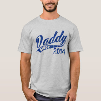 Personalized Daddy since Year T-Shirt