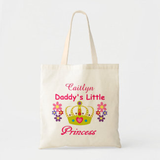 Personalized Daddy's Little Princess Budget Tote