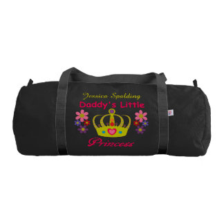 Personalized Daddy's Little Princess Gym Bag