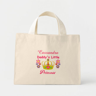 "Personalized ""Daddy's Little Princess"" Tiny Tote"