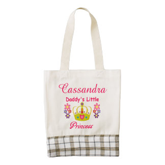 "Personalized ""Daddy's Little Princess"" Tote"