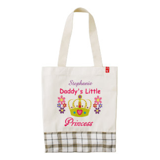 Personalized Daddy's Little Princess Tote
