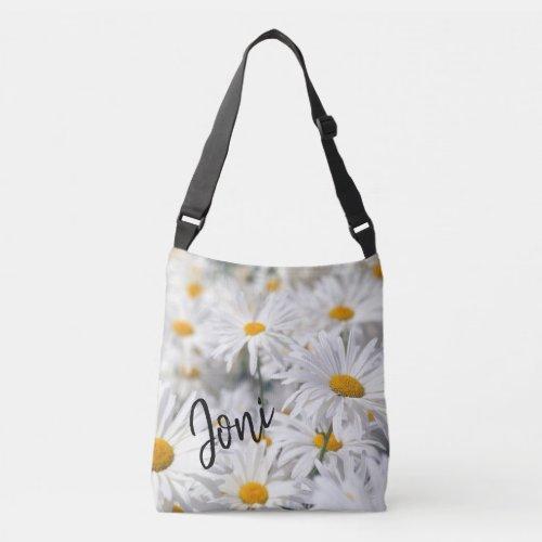 Personalized Daisy Crossbody Bag