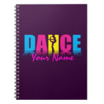 Personalized Dance Dancer Notebooks