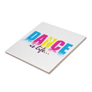 Personalized Dance Dancer Ceramic Tile