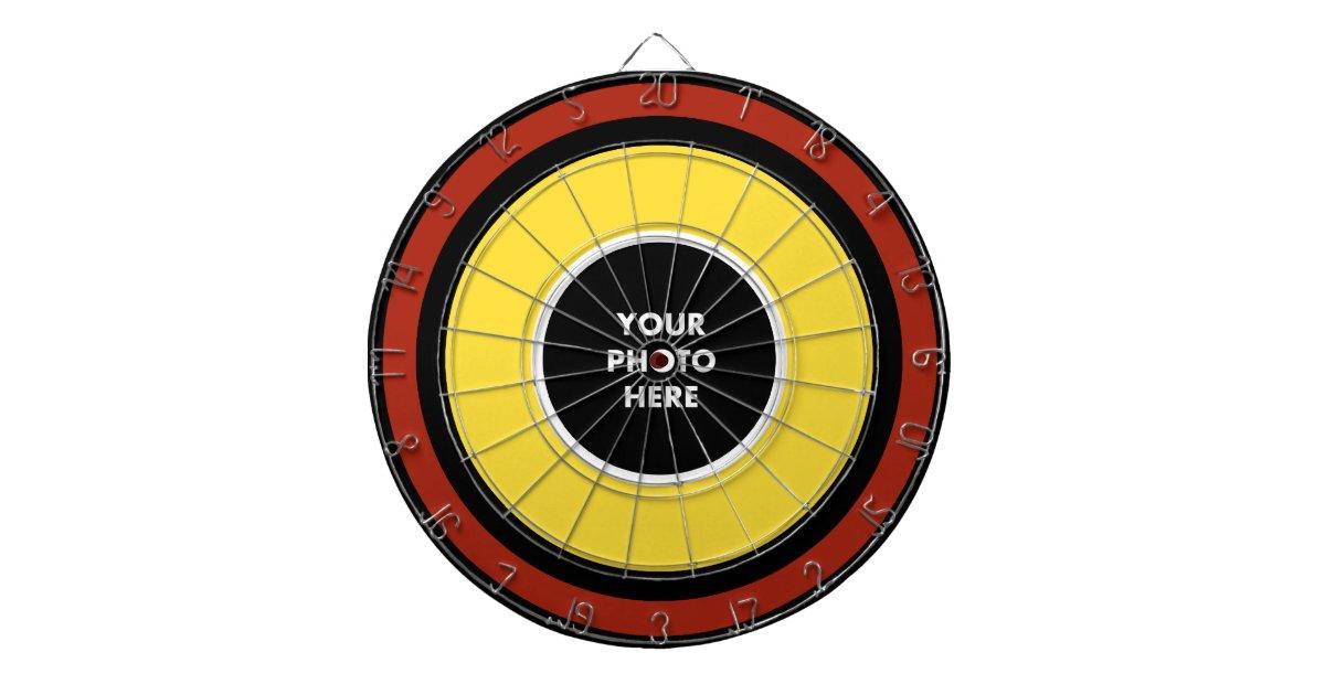 Personalized Street Signs >> Personalized Dart Board - Classic Colors   Zazzle.com