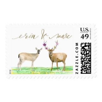 Personalized Deer Stamp