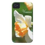 *Personalized* del caso del iPhone 4 del narciso d Case-Mate iPhone 4 Carcasas